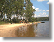 Doe Lake Beach, Sprucedale